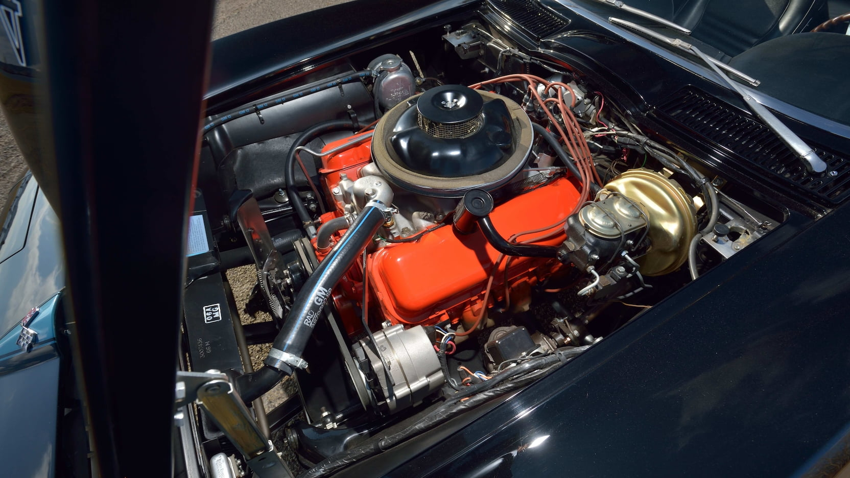1967 Chevrolet Corvette L88 Convertible Engine