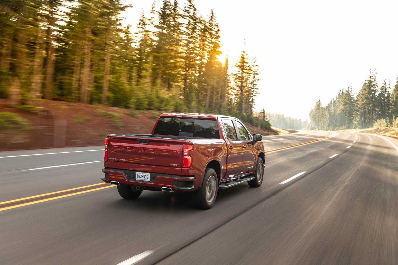2020 Chevrolet Silverado Diesel rear 3/4