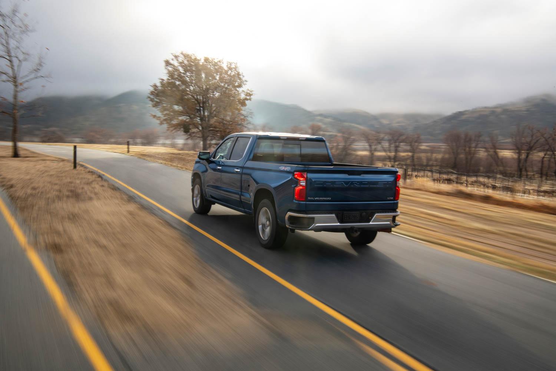 2020 Chevrolet Silverado Diesel driving