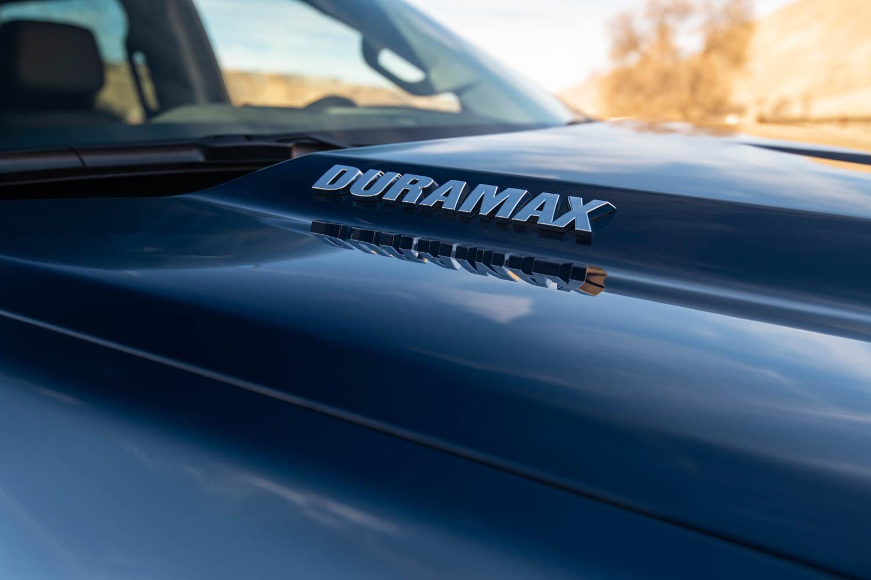 2020 Chevrolet Silverado Diesel duramax badge