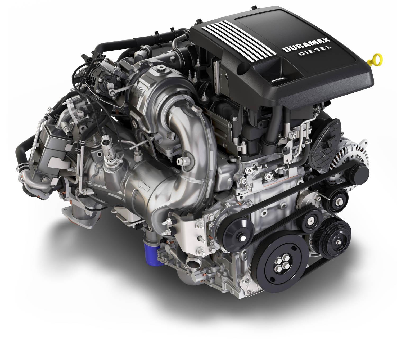 2020 Chevrolet Silverado Duramax Diesel engine