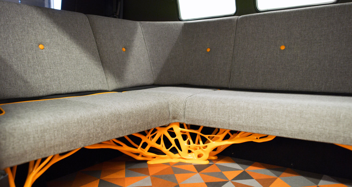 Volkswagen Type 20 Concept Vehicle Interior