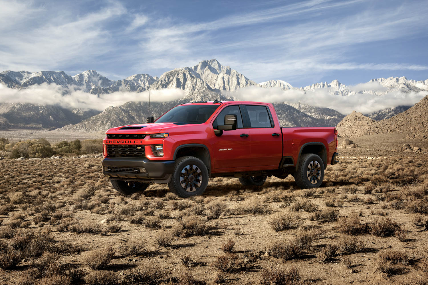 For the 2020 Chevrolet Silverado HD, ugly is only skin deep thumbnail