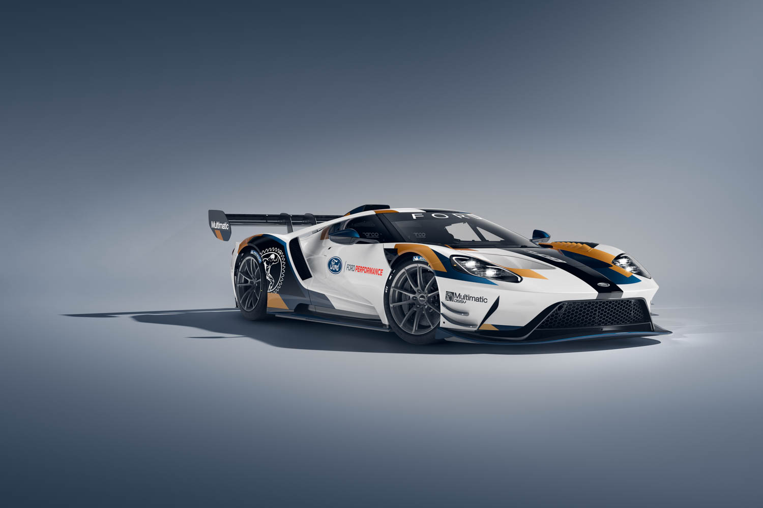Ford GT Mk II front 3/4