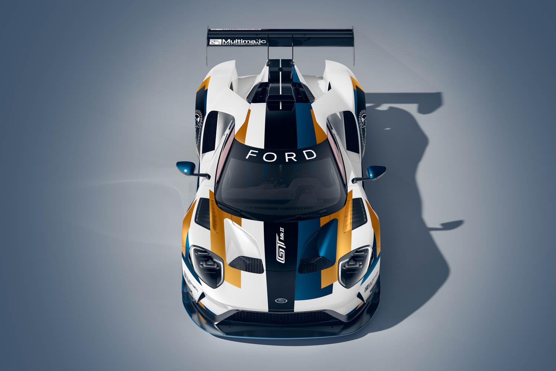 Ford GT Mk II overhead