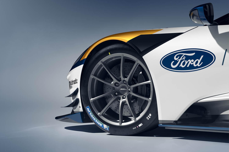 Ford GT Mk II wheel detail