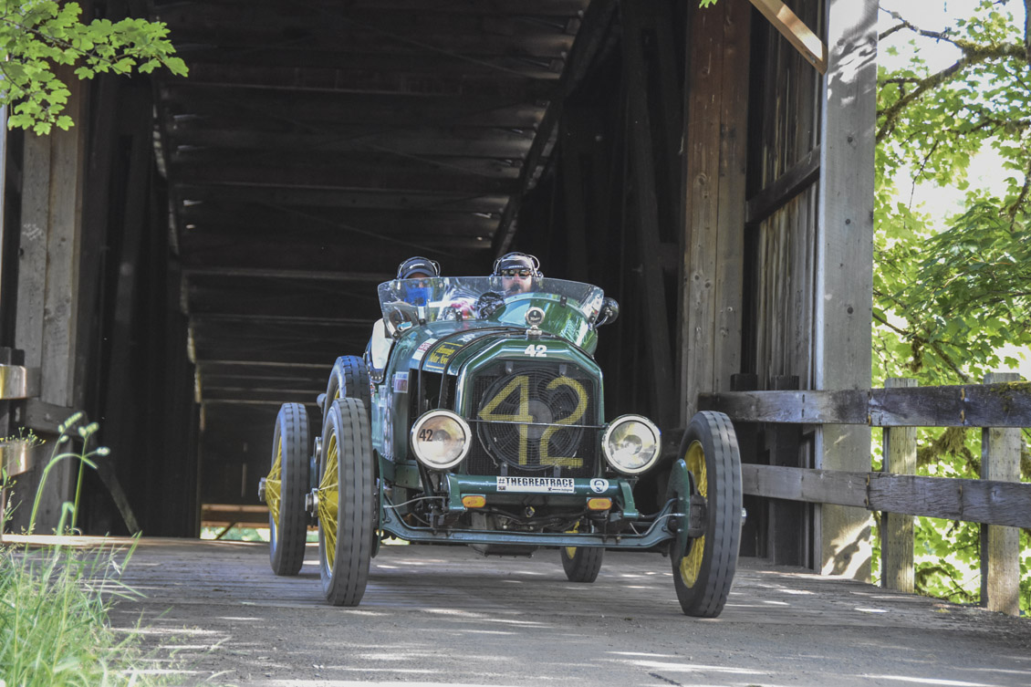 How I survived 2300 miles over nine days in an open-top 1917 Peerless