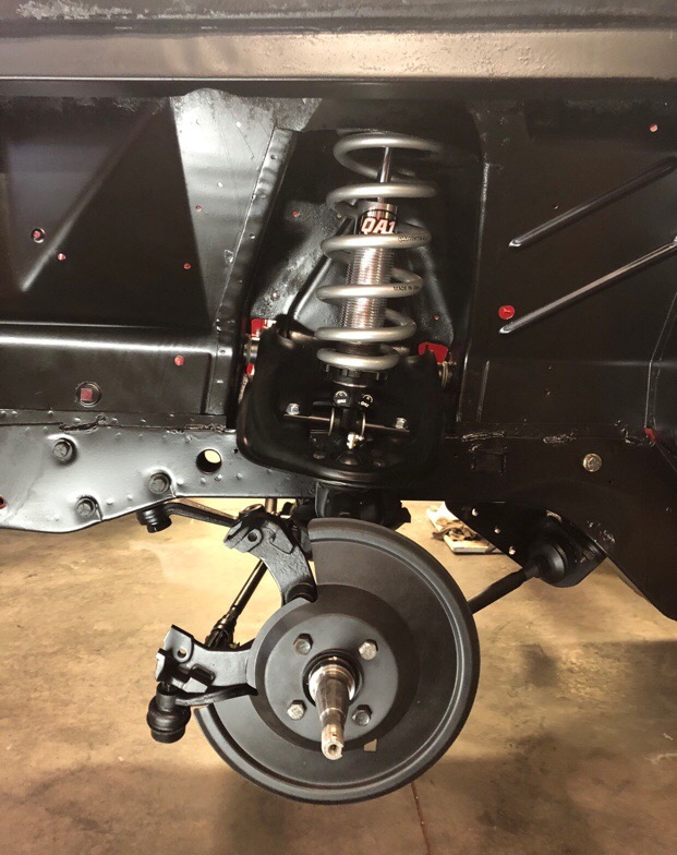 QA1 Front Suspension