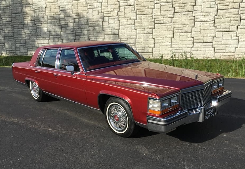 1987 Cadillac front 3/4