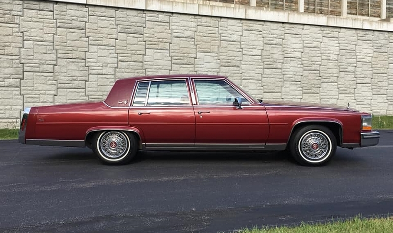 1987 Cadillac profile