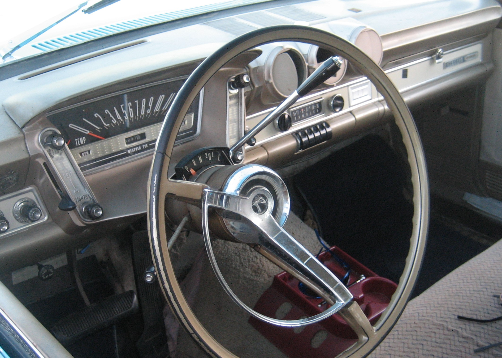 1963 Rambler dashboard