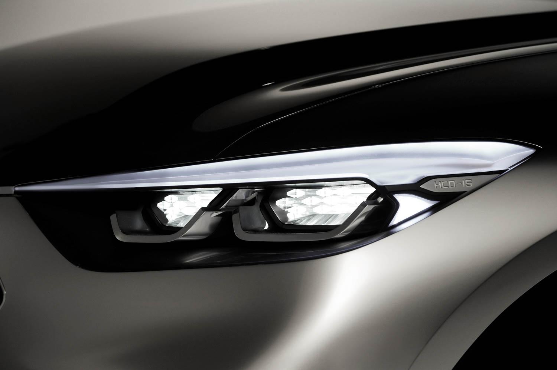 Hyundai Santa Cruz Crossover Truck Concept headlight