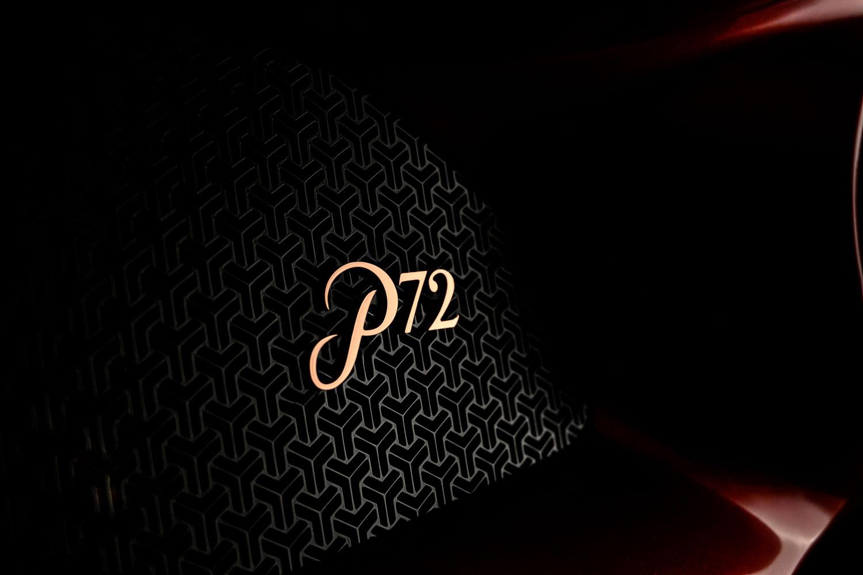 De Tomaso P72 Detail