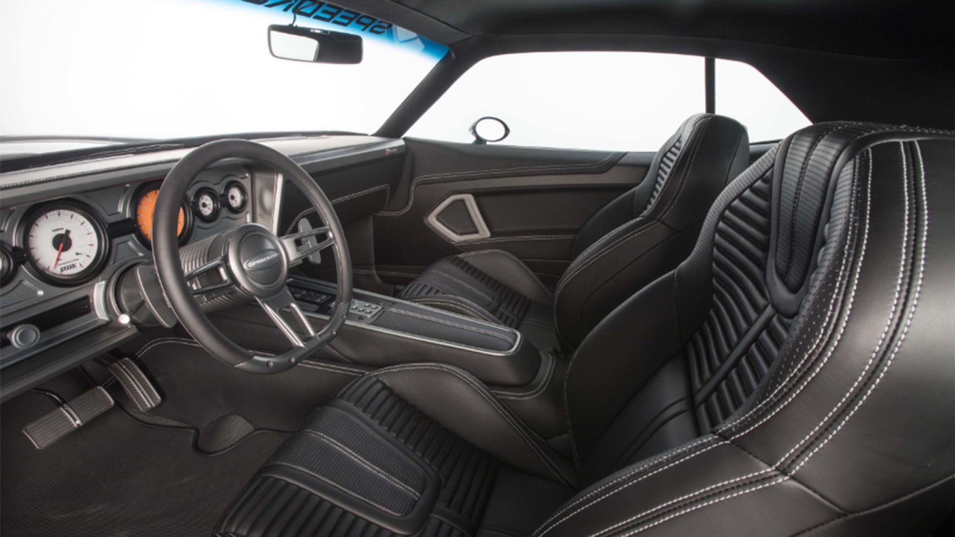 1970 Plymouth 'Cuda interior