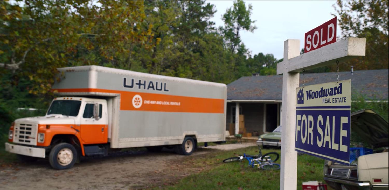 1983 U-haul truck
