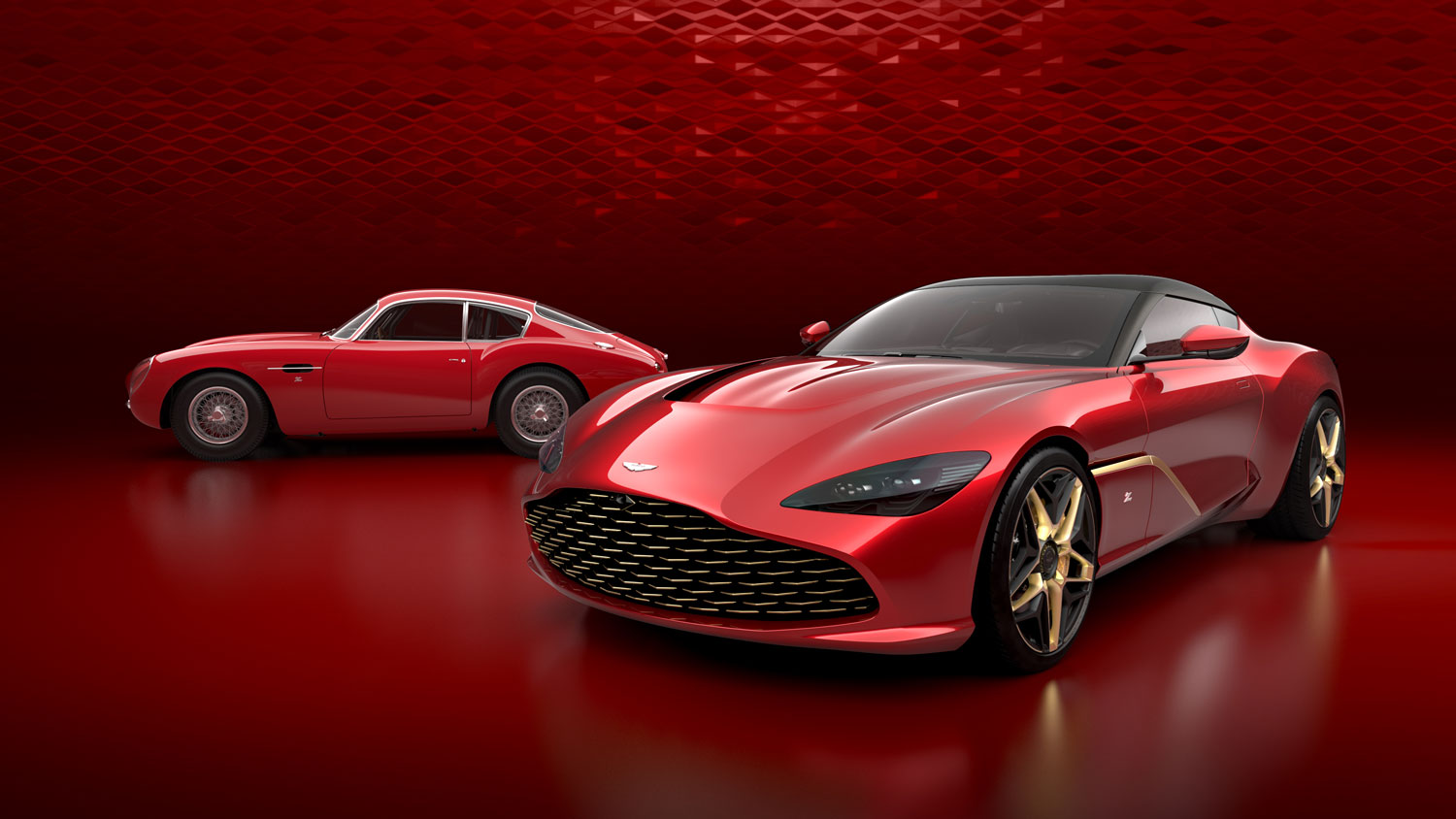 Aston Martin reveals divine-looking DB4 GT-inspired DBS GT Zagato thumbnail