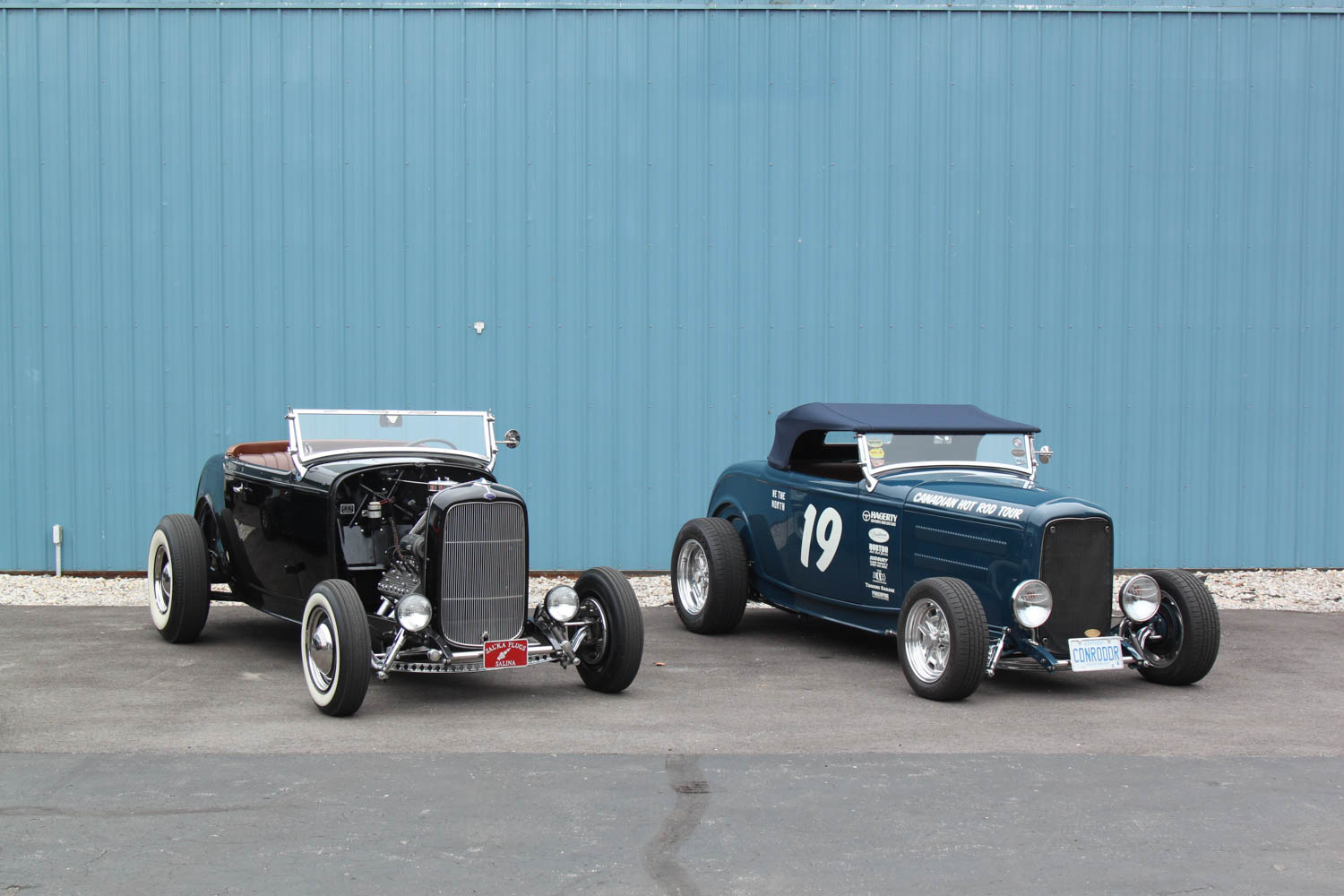 Franks roadster and Hagerty Roadster