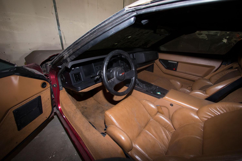 1989 Corvette Interior Peter Max Collection