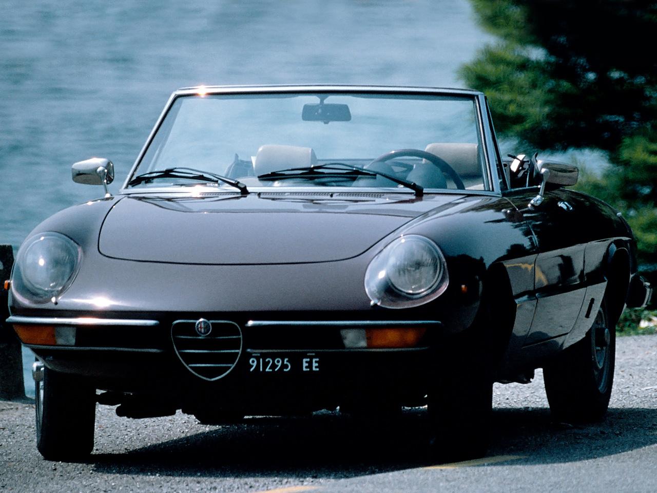 1971 Alfa Romeo 2000 Spider Veloce