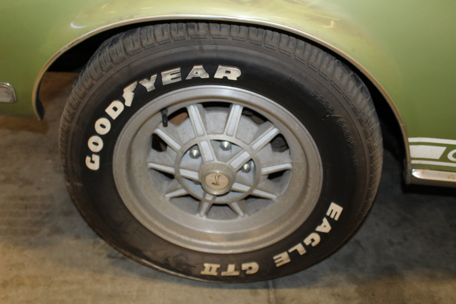 1968 Shelby GT500KR wheel detail