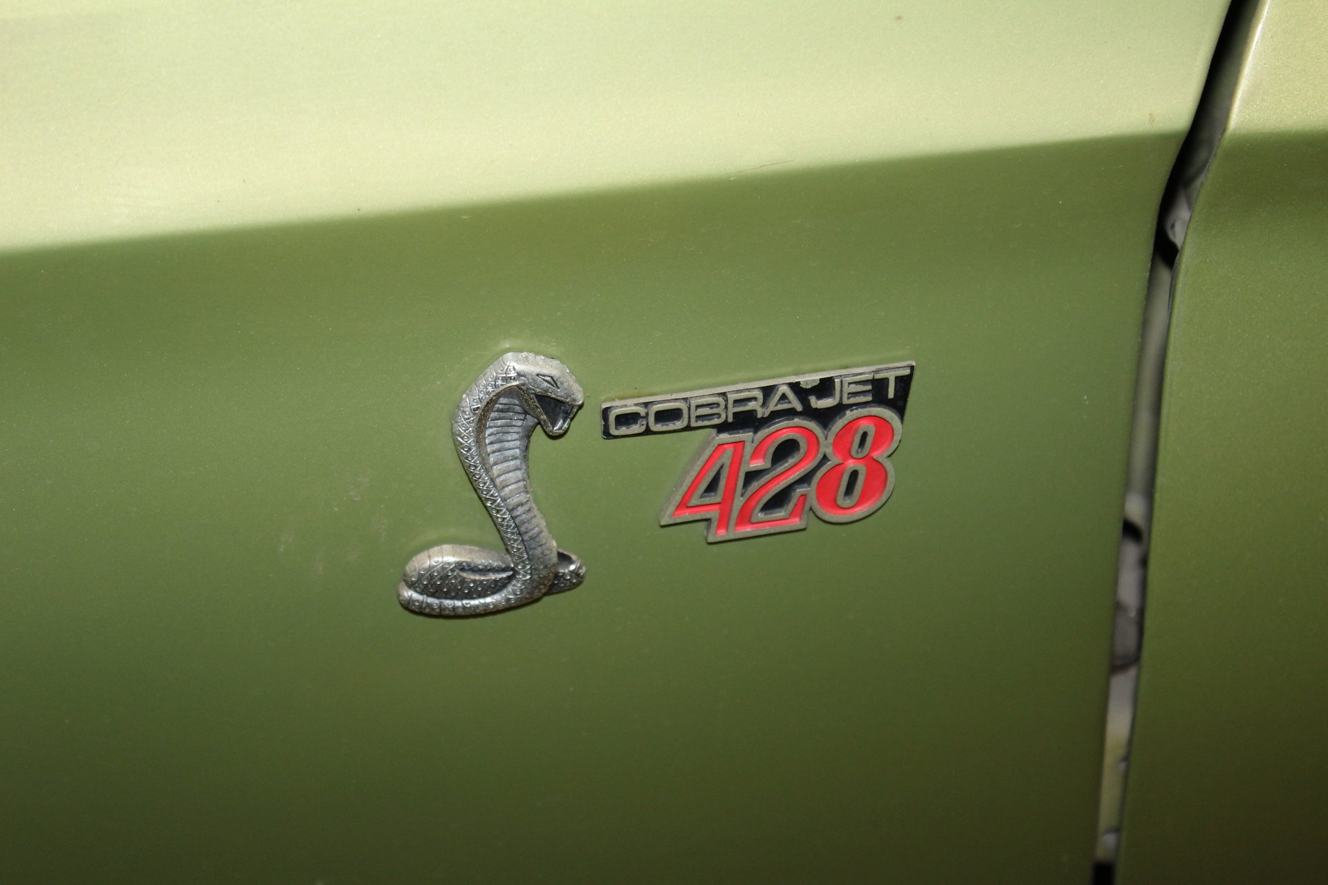 1968 Shelby GT500KR badge