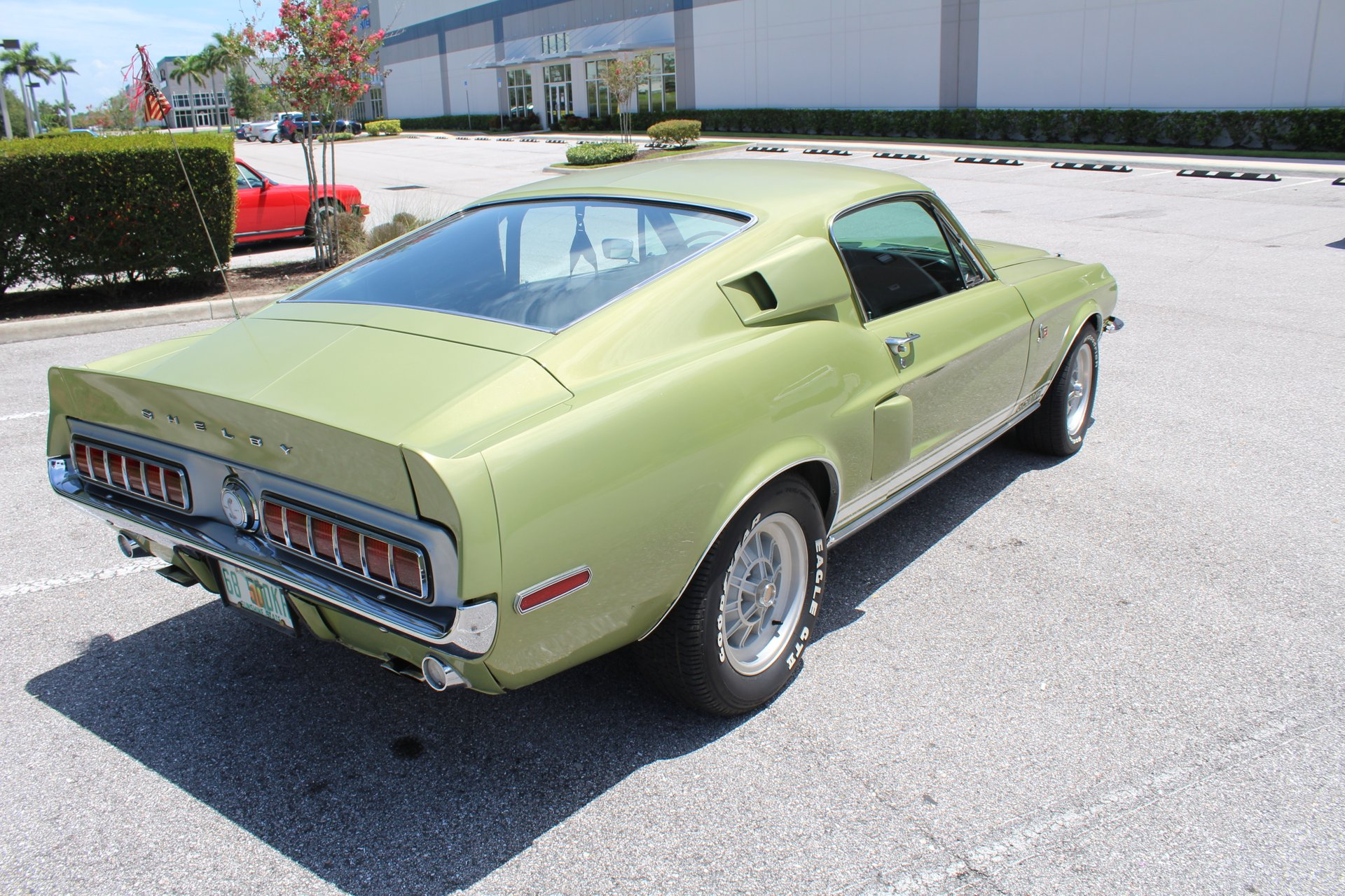 1968 Shelby GT500KR rear 3/4