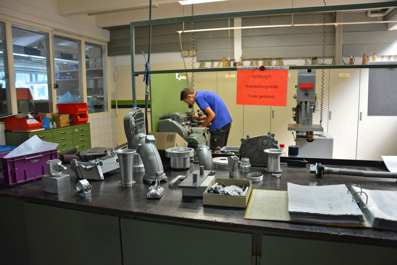 Alpina manufacturing