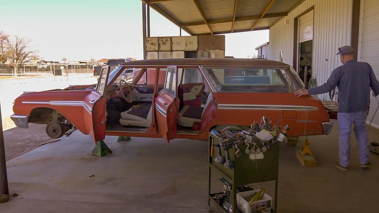 1962 Ford Country Sedan Barn Find Hunter