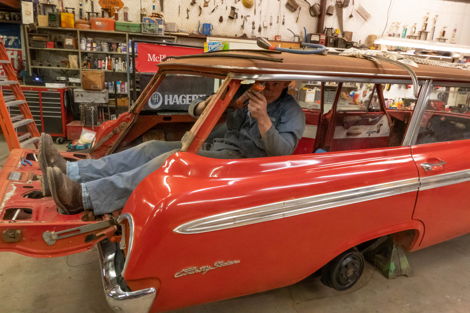 1962 Ford Country Sedan McPherson restoration