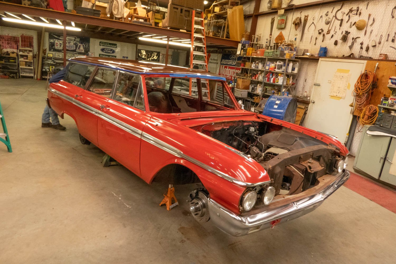1962 Ford Country Sedan restoration