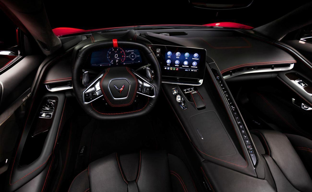 C8 Corvette interior photo leaked hours before debut thumbnail