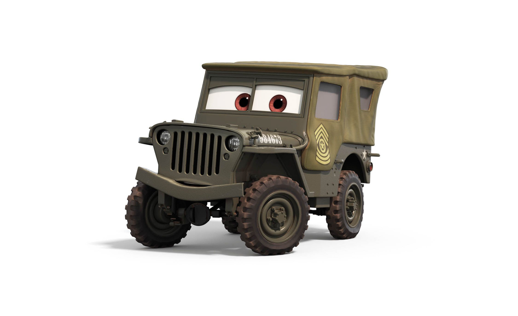 """Willys MB 'Jeep"""" from Cars"""