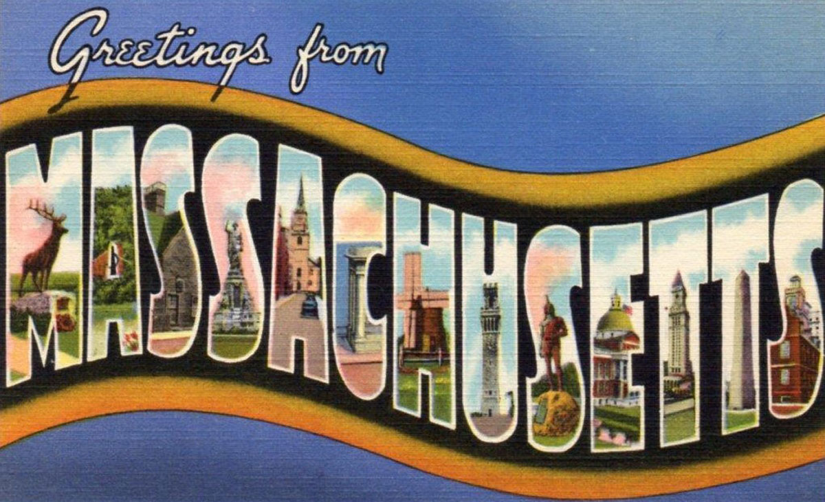 Massachusetts State Banner