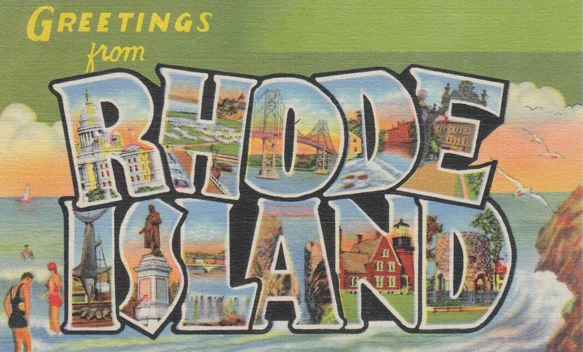Rhode Island State Banner