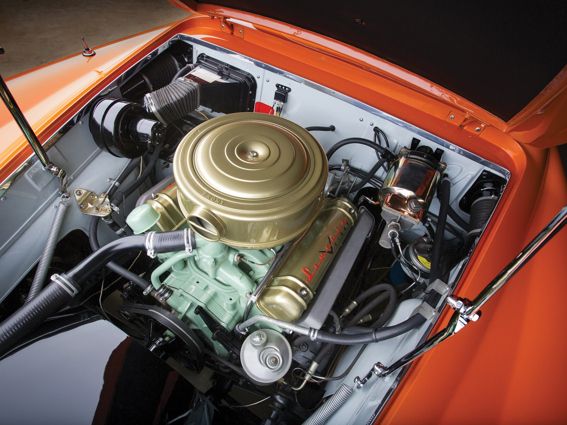 1955 Lincoln Indianapolis Exclusive Study by Boano Engine