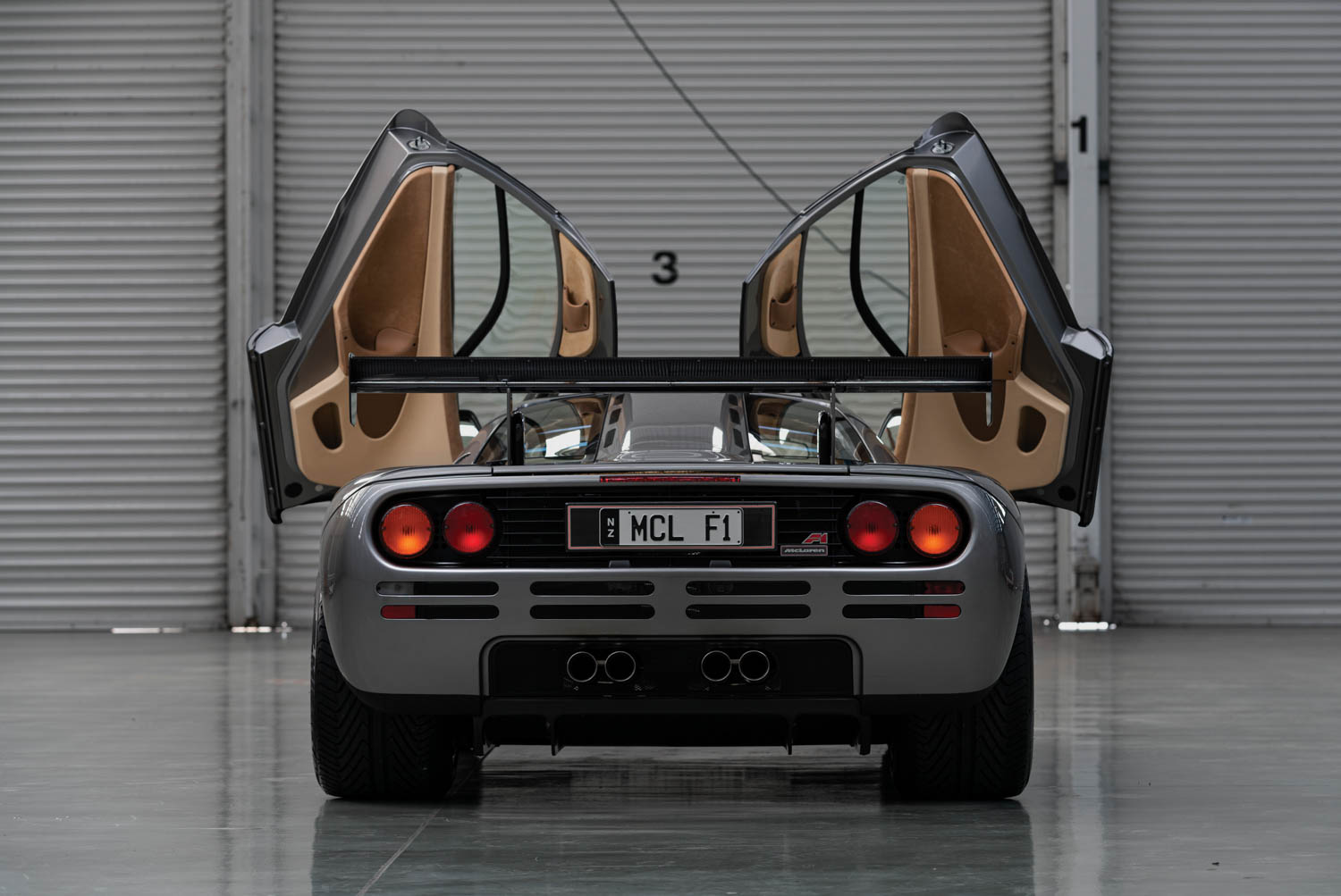 1994 McLaren F1 'LM-Specification' rear