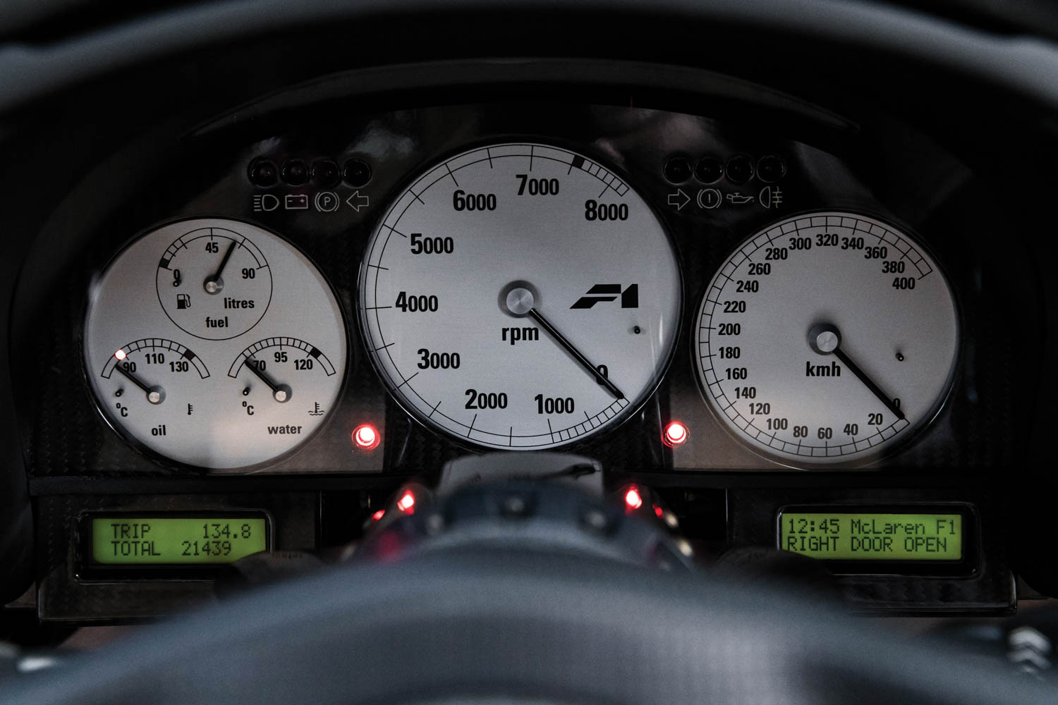 1994 McLaren F1 'LM-Specification' gauges