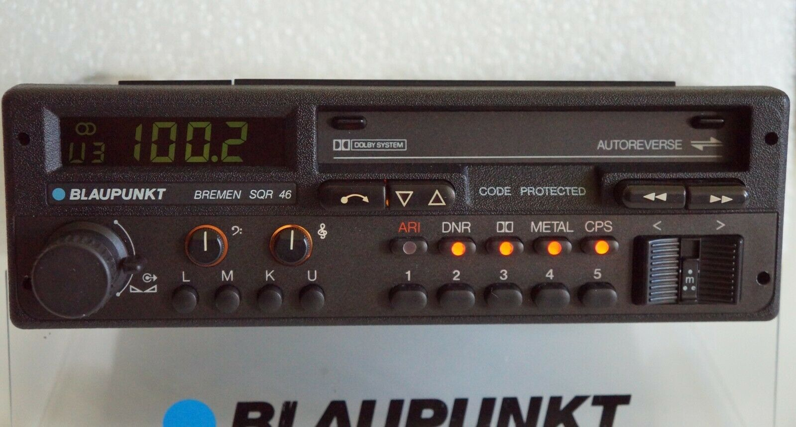 Blaupunkt Bremen SQR 46 Noir Tape FM Player