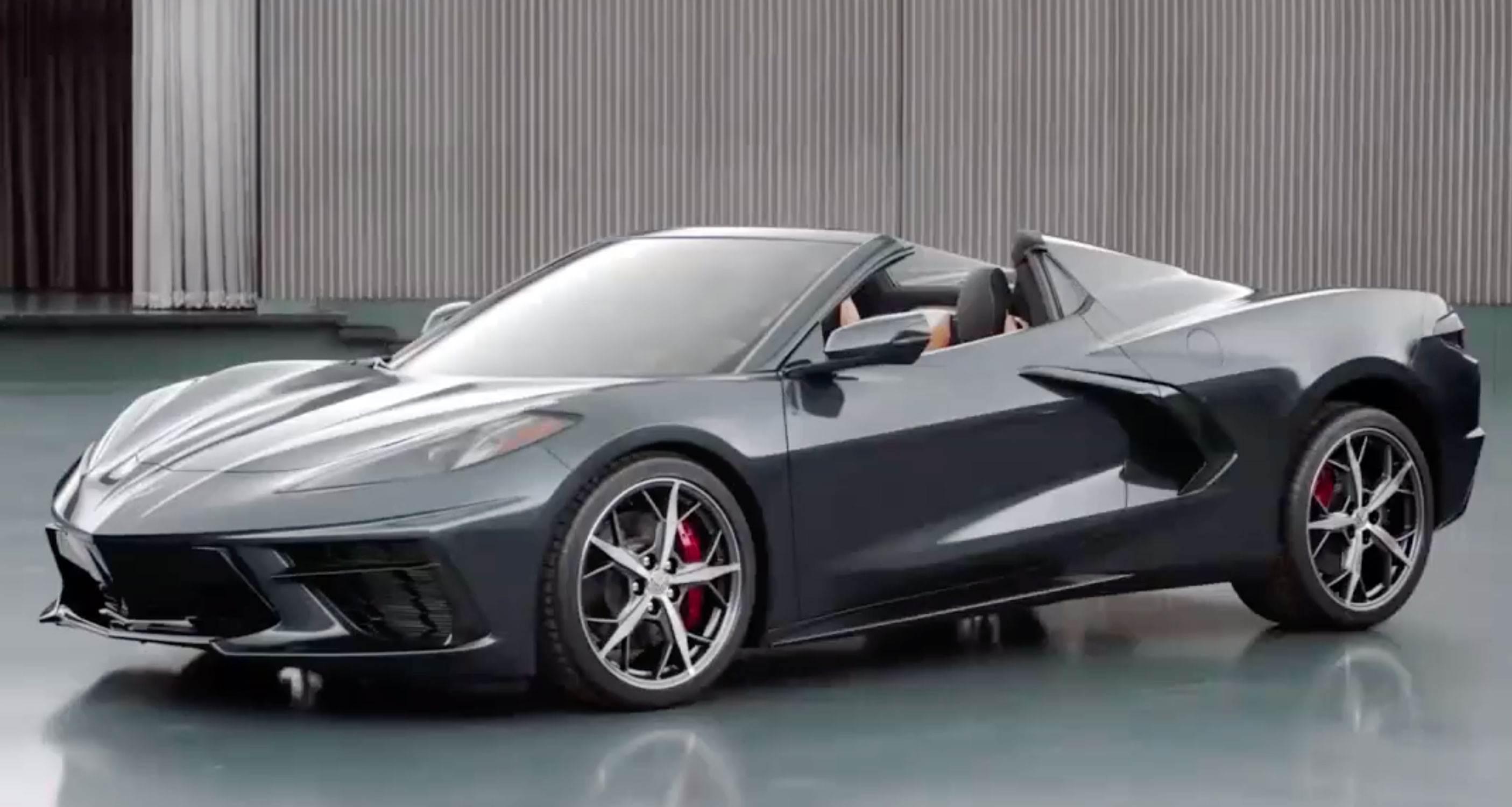 Chevrolet teases Corvette Stingray convertible thumbnail