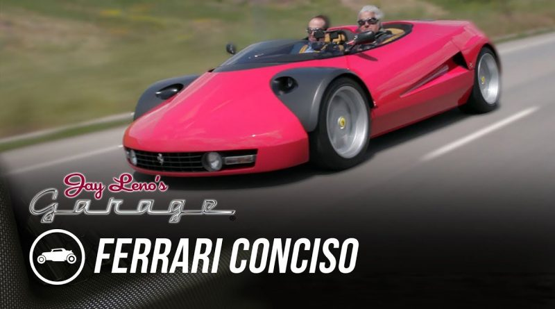 This one-of-a-kind 1993 Ferrari Conciso blows away Jay Leno thumbnail