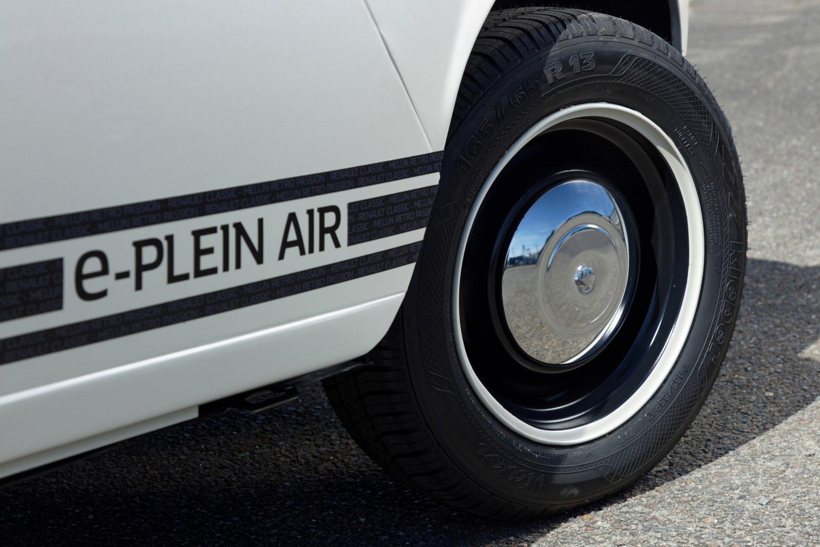 Renault e-Plein Air wheel detail