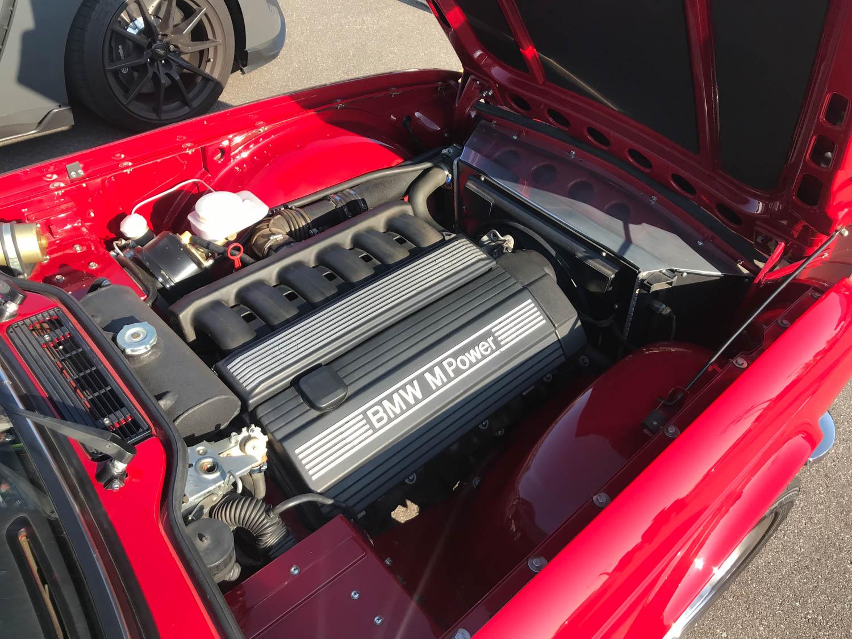 TR6 engine swap