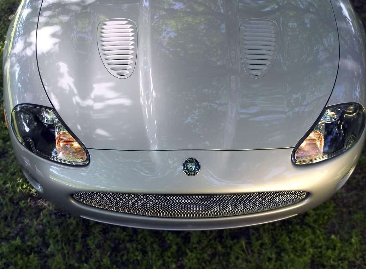 2005 Jaguar XKR nose