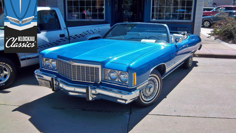 The 1974 Chevrolet Caprice Classic Convertible Was Aqua Blue Persuasion thumbnail