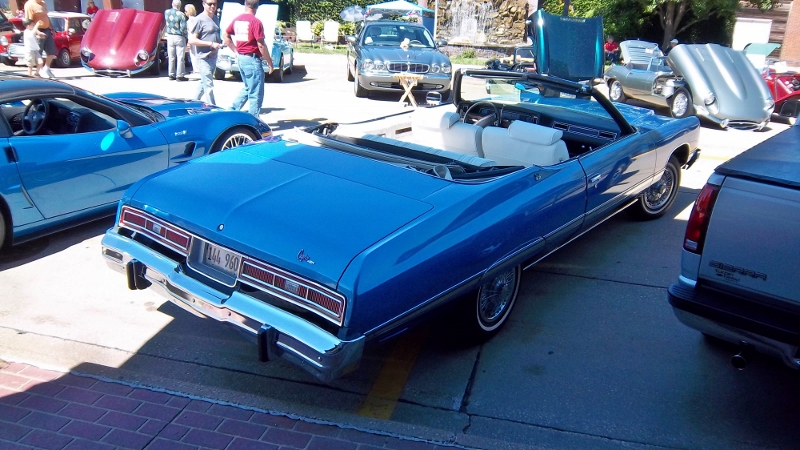1974 Chevrolet Caprice rear 3/4