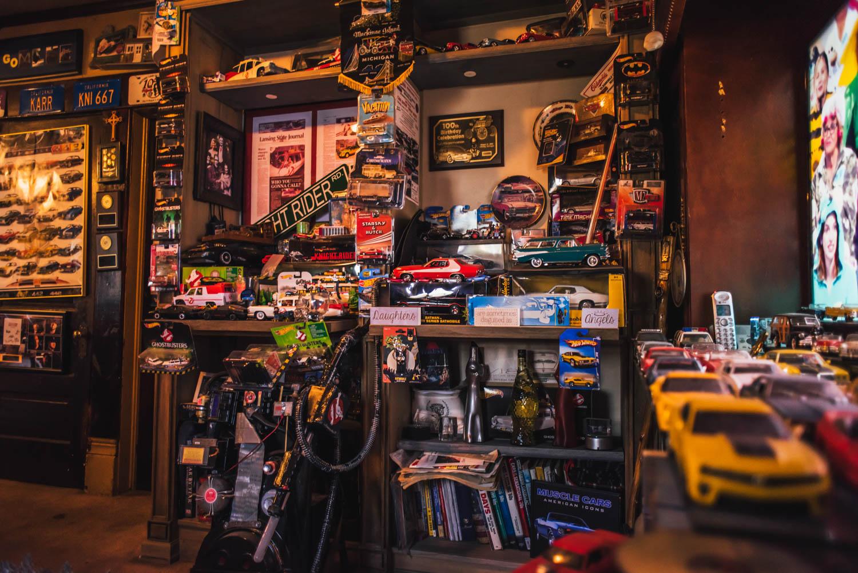 Movie car garage