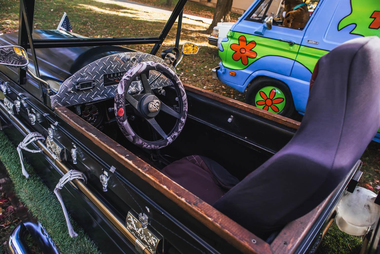 Reaper's Ride coffin car