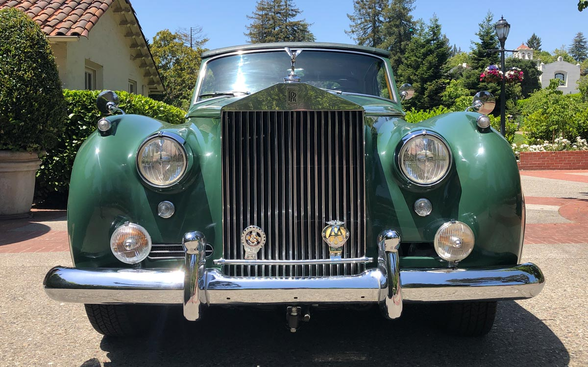 "1960 Rolls Royce Silver Cloud II ""The Green Goddess"""