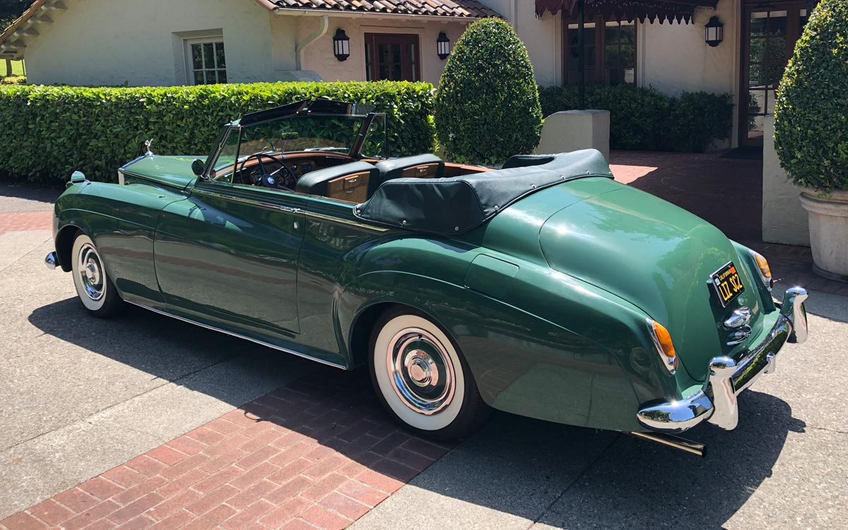 1960 Rolls Royce Silver Cloud II The Green Goddess
