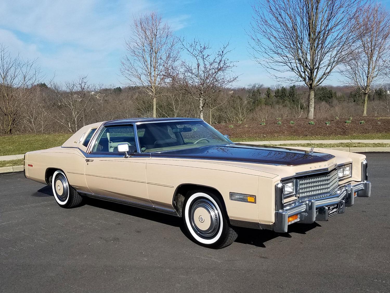 1978 Cadillac Eldorado Custom Biarritz Classic Coupe